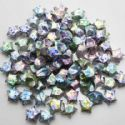 paper stars, Assorted colours, 0.8cm x 1.5cm x 1.5cm, 30 pieces, (PS006)